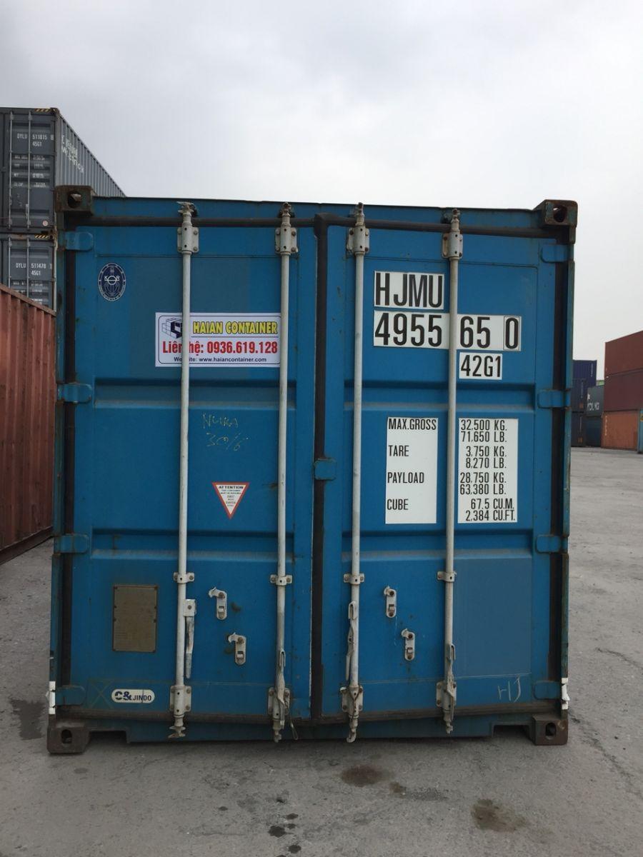 Container ngoại chất lượng tại haiancontainer