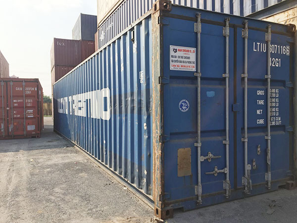 container kho 40 feet bac giang