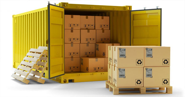 lưu ý khi đóng hàng vào container