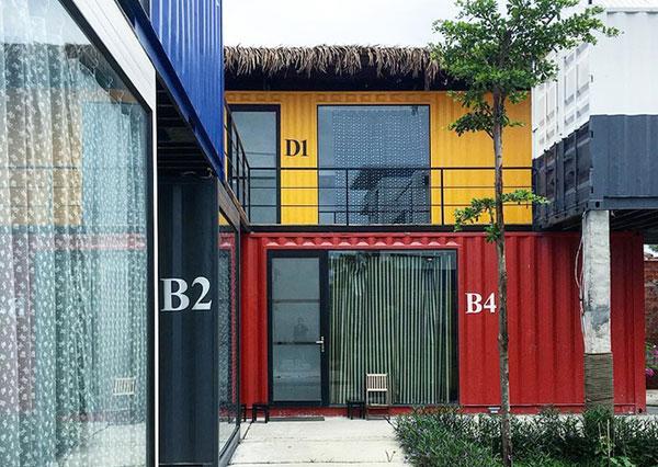 mẫu khách sạn container