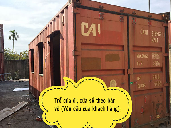 quy trinh hoan cai container